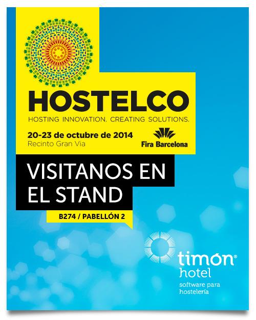 Timón Hotel en Hostelco 2014