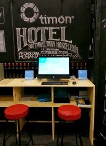 Stand Timón Hotel & Cuiner Software en Hostelco 2014
